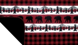 Bear Plaid Border